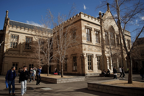 Building at Melbourne University