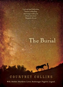 Book cover of Courtney Collin's The Burial